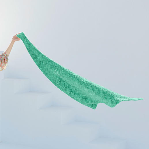 Anleitung 013 Kind Knitter, Dreiecktuch aus Liberty von WOOLADDICTS by Lang Yarns