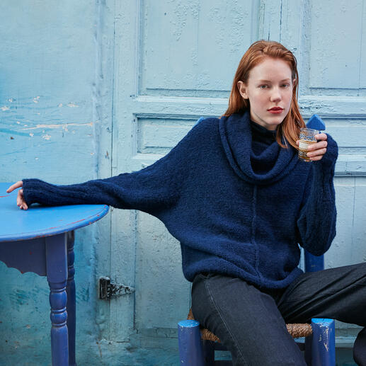 Anleitung 015 Be-At-Ease, Pullover aus Water von WOOLADDICTS by Lang Yarns