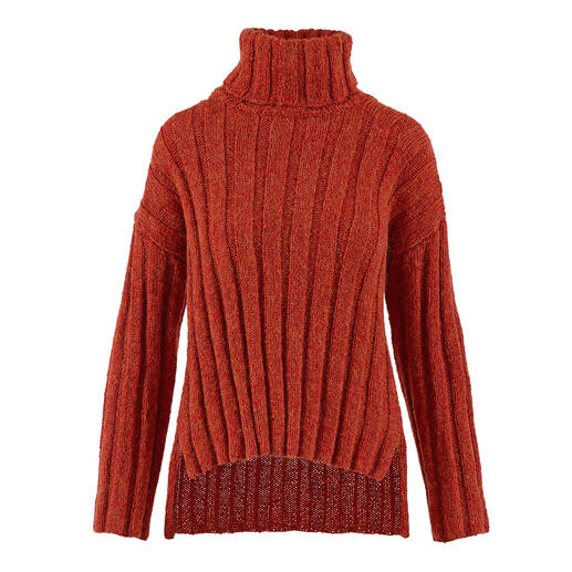 Anleitung 021 Miracle Magnet, Pullover aus Respect von WOOLADDICTS by Lang Yarns