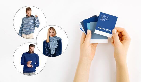 Pantone Classic Blue Farbe des Jahres 2020