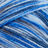 Blau-Meliert
