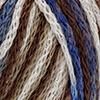 Braun/Weiß/Blau