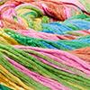 Gelb/Grün/Lachs/Pink/Jade/Blau/Türkis - dünne Streifen