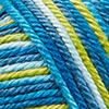 Zartblau/Limette/Topas