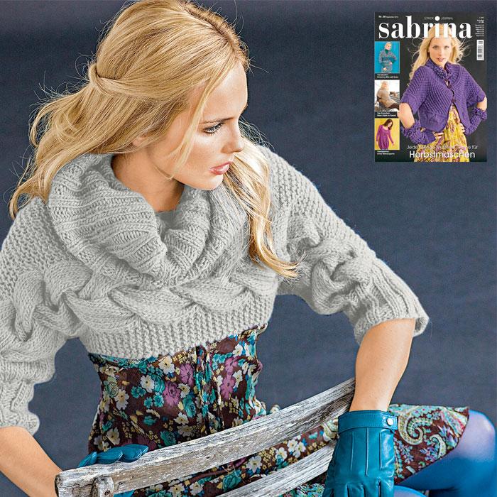 Pullover aus Clou von Junghans-Wolle
