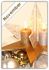 Basteltipp des Monats November 2011