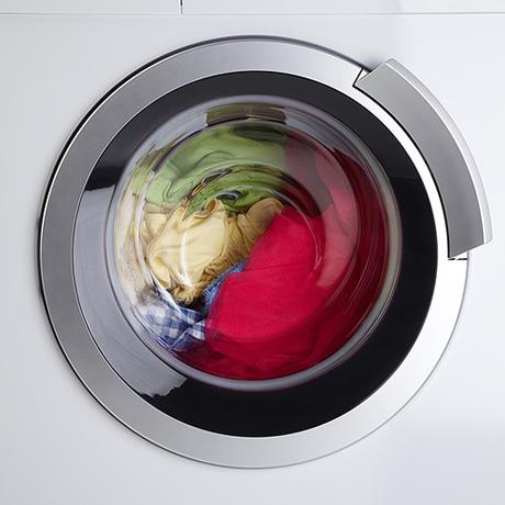 Farbige Baumwolle waschen
